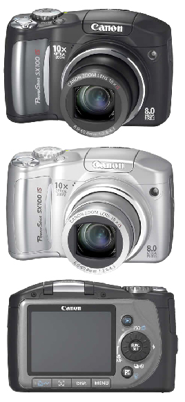 Canon SX010-iS